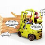 Forklift Safety Tip: Carrying the load safely